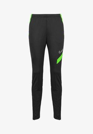 ACADEMY TRAININGSHOSE DAMEN - Pantalon de survêtement - anthracite / green strike / white