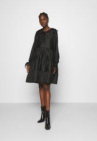 Cras - LENACRAS DRESS - Cocktail dress / Party dress - black - 1