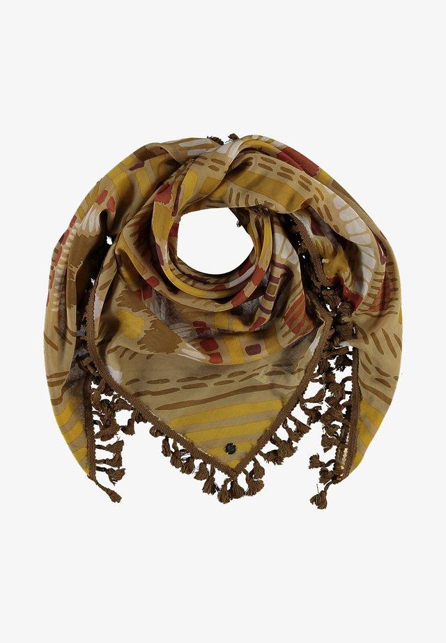 Foulard - bronze