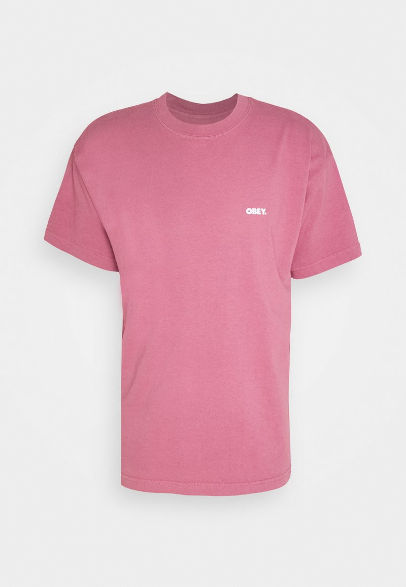 Obey Clothing - WINDOW WATCHER - Print T-shirt - mesa rose