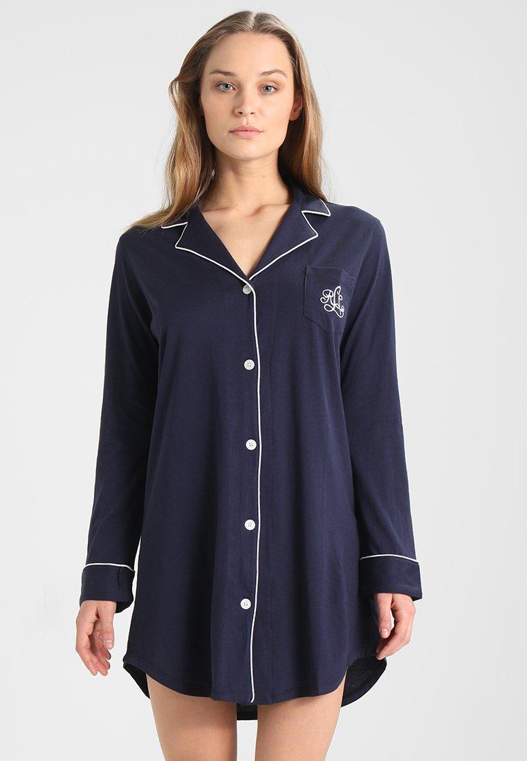 Damen CLASSIC NOTCH COLLAR SLEEPSHIRT - Nachthemd