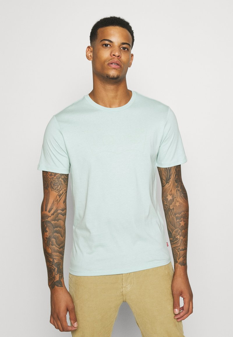 Levi's® - HOUSEMARK GRAPHIC TEE UNISEX - T-shirt con stampa - greys