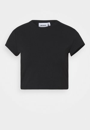 SABRA - T-shirt basique - black