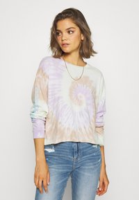 American Eagle - TIE DYE LONG SLEEVE COVE TEE - Long sleeved top - multi - 0
