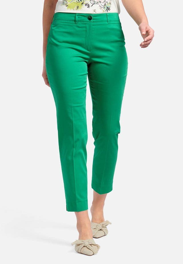 AUDREY - Trousers - green