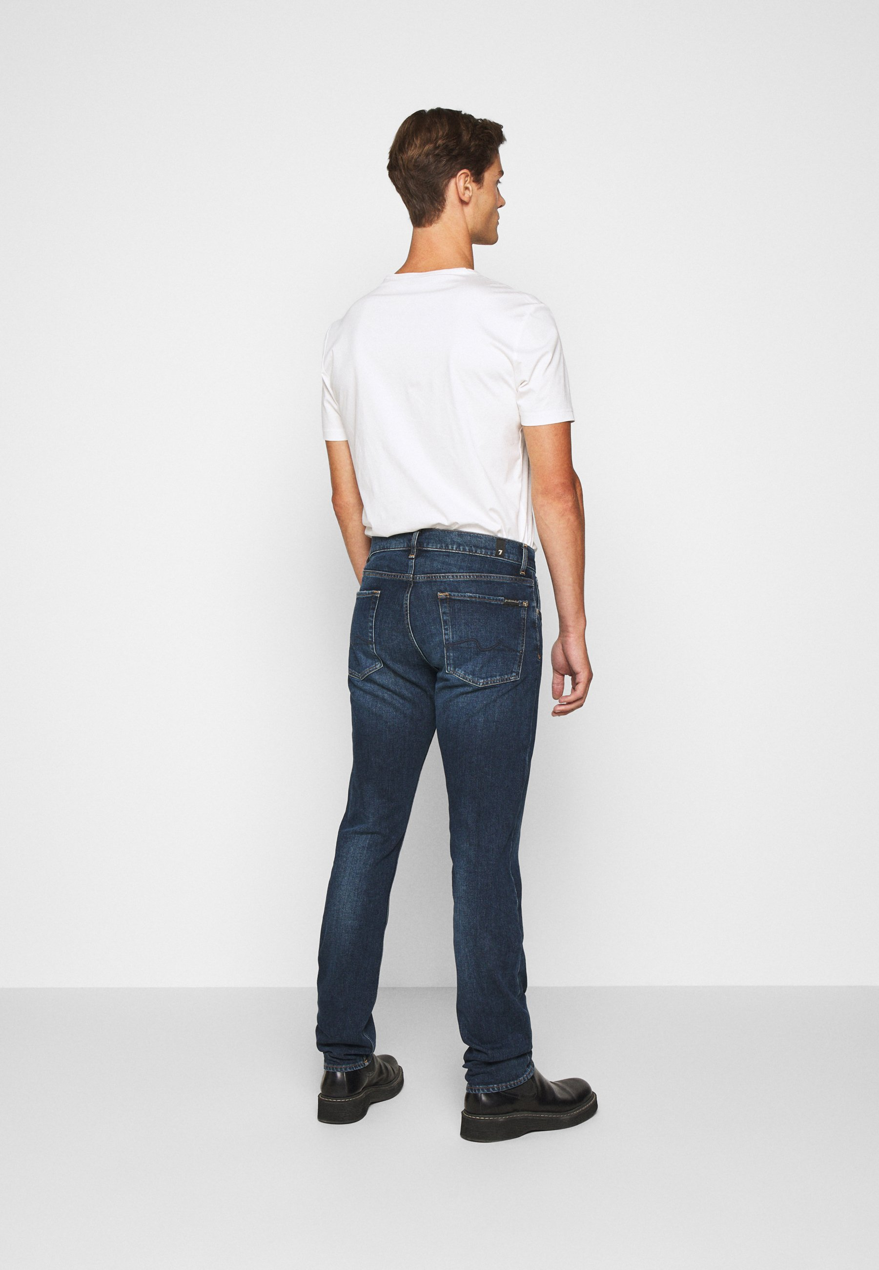 7 for all mankind CAPTAIN - Jeans slim fit - dark blue