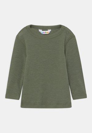 LONG SLEEVES UNISEX - Long sleeved top - dark green