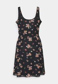 Even&Odd - Sukienka letnia - black/pink - 6