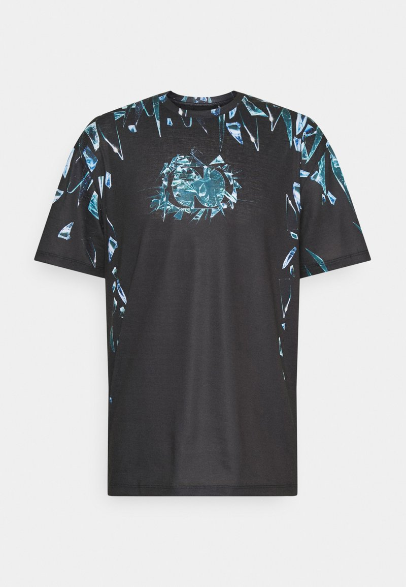 Criminal Damage - SHARD TEE - T-shirt imprimé - black