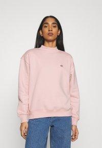 Dickies - OAKPORT HIGH NECK - Sweatshirt - light pink - 0