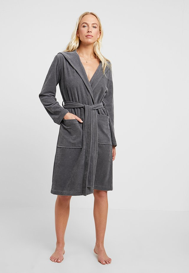 GINA - Dressing gown - graphit