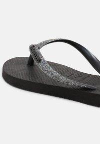 Havaianas - Pool shoes - black/dark grey - 4