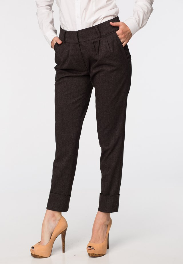 TROUSER DENA - Pantalones - dark gray