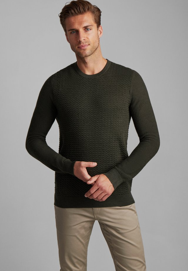 BS STAR - Pullover - green