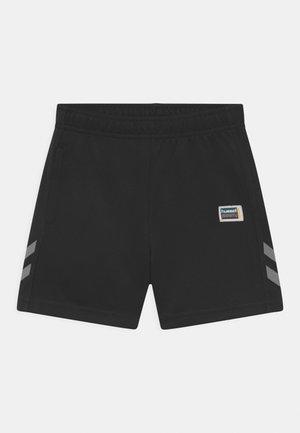 BRICK UNISEX - Sports shorts - black