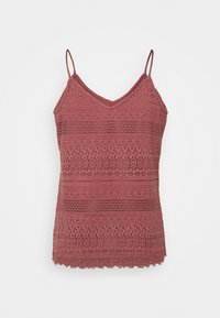Vero Moda - VMHONEY SINGLET - Top - rose brown - 1