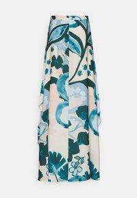 Esprit Collection - PRINT SKIRT - Maksihame - cream beige - 1