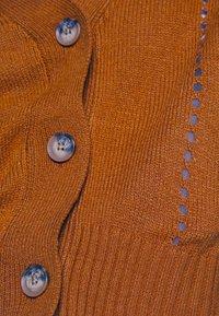 JDY - JDYFLORAL - Cardigan - brown - 5