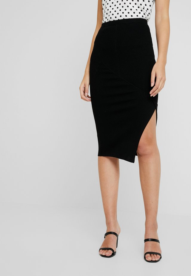 NALA SKIRT - Pencil skirt - black