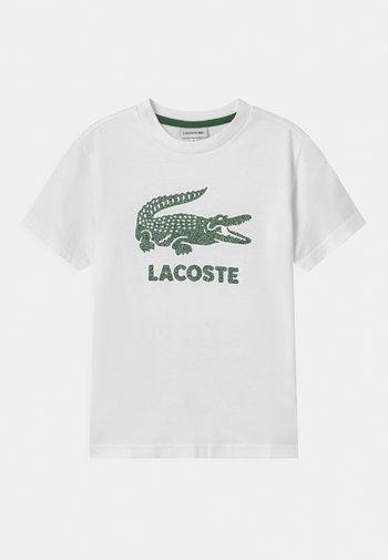TEE LOGO UNISEX - Print T-shirt - blanc