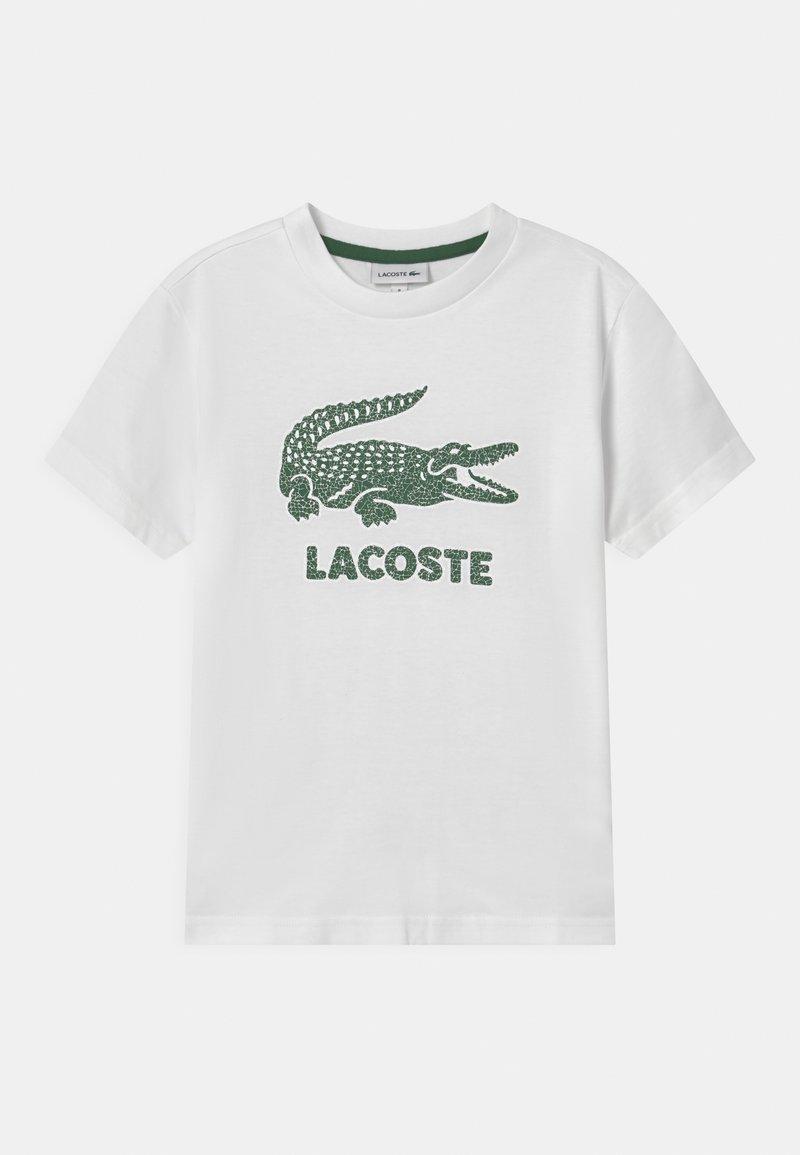 Lacoste - TEE LOGO UNISEX - Triko spotiskem - blanc