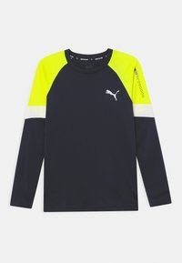 Puma - ACTIVE SPORTS UNISEX - Long sleeved top - peacoat - 0