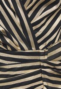 Pinko - CACHACA DRESS - Vestito elegante - nero/oro - 2