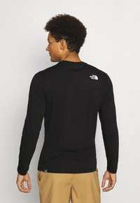 The North Face - GRAPHIC  - Long sleeved top - black - 2