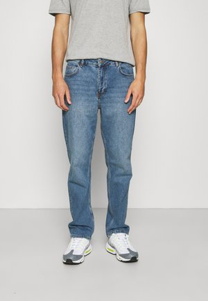 MID RISE - Relaxed fit jeans - mid blue wash