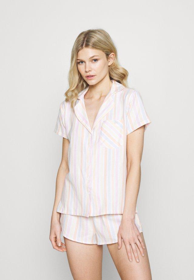 STRIPE IN A BAG - Pijama - pink