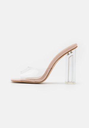 MEHA - Heeled mules - clear
