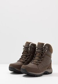 Hi-Tec - RIVA MID WP - Snowboot/Winterstiefel - dark brown/beige - 2