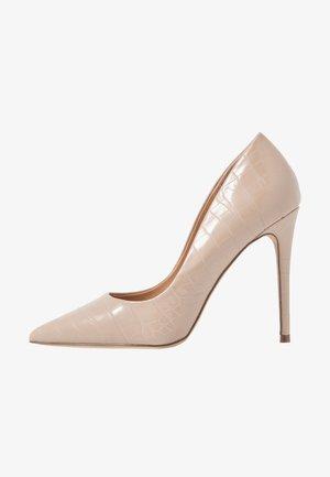 AIMEES - Zapatos altos - nude