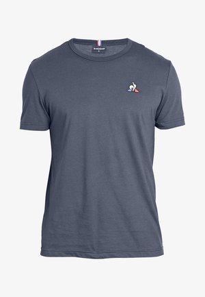 ESS TEE Basic T-Shirt - Camiseta básica - navy blue