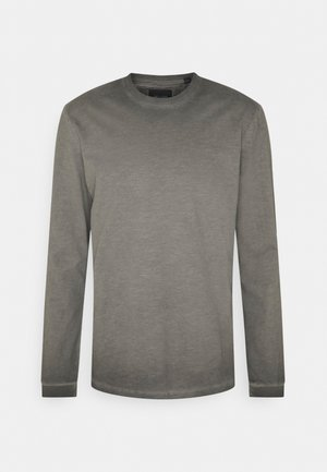 ONSMILLENIUM LIFE WASHED TEE - Maglietta a manica lunga - black