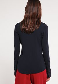 Expresso - XANI - Button-down blouse - navy - 2