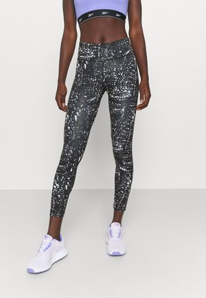 ALL OVER PRINT WORKOUT READY SPEEDWICK - Leggings - black