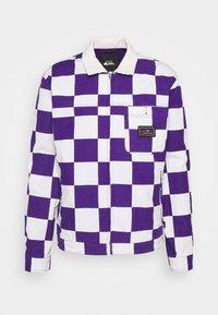 Quiksilver - BOX CHECKER JACKET - Summer jacket - prism violet - 4