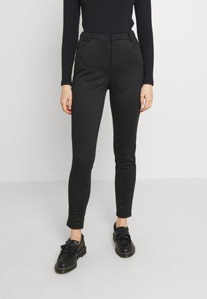 VMELLA - Trousers - black