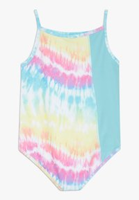 South Beach - GIRLS BALLET CAMISOLE LEOTARD - Danspakje - rainbow/light blue - 1