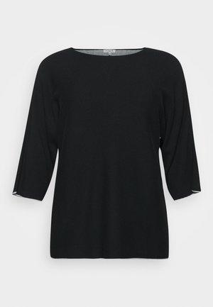 DOUBLE FACE  - Jersey de punto - deep black
