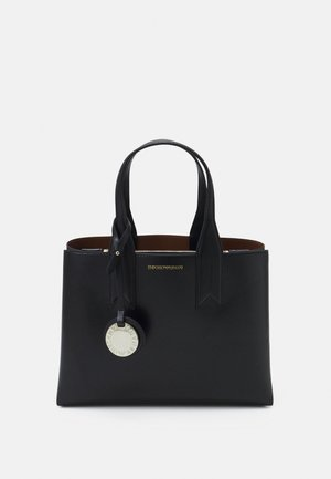 FRIDATOTE BAG - Handbag - nero/tabacco