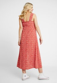 Topshop Maternity - SPLIT FRONT - Day dress - red - 3