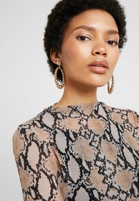 Missguided - BALL HOOP AND DROP 2 PACK - Earrings - gold-coloured - 1