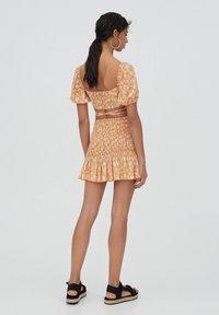 PULL&BEAR - Áčková sukně - orange - 2