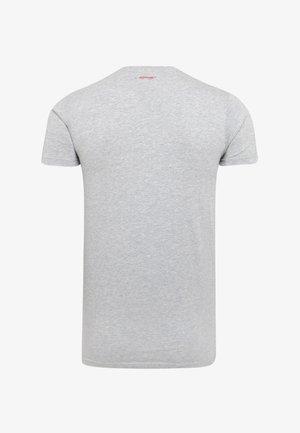 DEATH-STUD T-SHIRT - T-shirt imprimé - grey marl