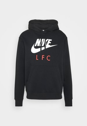 LIVERPOOL FC CLUB HOODIE - Club wear - black/white