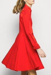 Steffen Schraut - EXCLUSIVE BLOUSE DRESS - Shirt dress - flash red - 4
