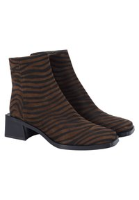 Ekonika - Ankle boots - zebra-oliv - 5