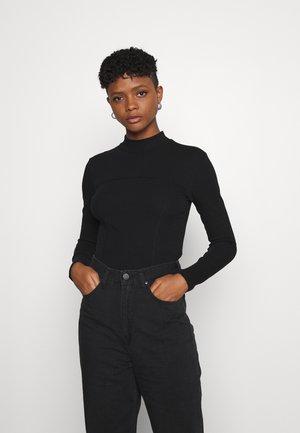 DISA - T-shirt à manches longues - black